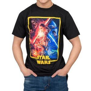 Star Wars The Force Awakens Poster T-shirt